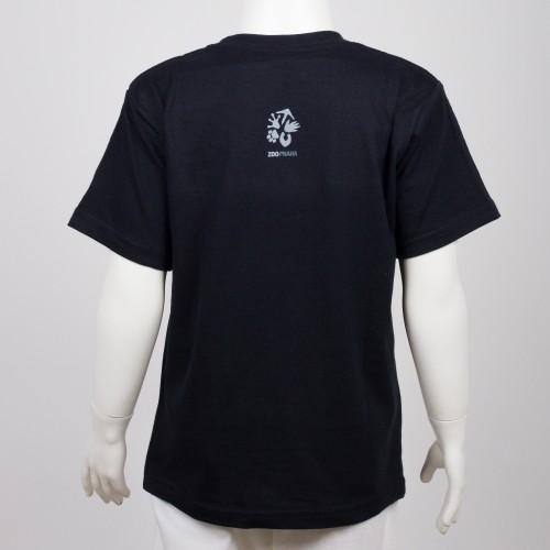 Bavlněné dětské tričko s motivem papouška – kakadu palmový