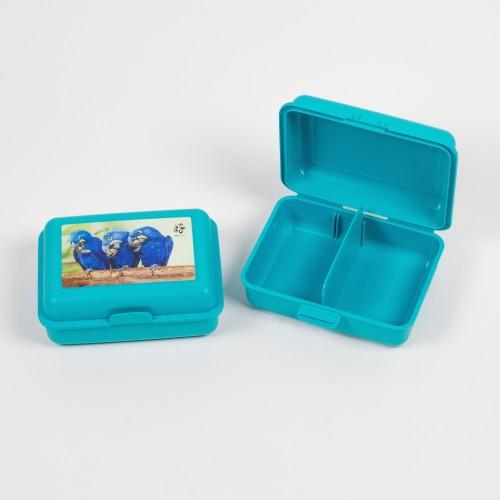 Originální svačinový box – ARA (modrý)