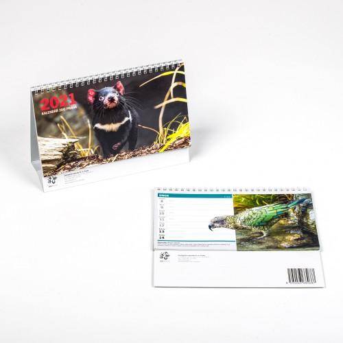 Stolní kalendář Zoo Praha 2021