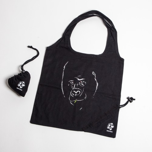Praktická skládací taška s motivem gorily