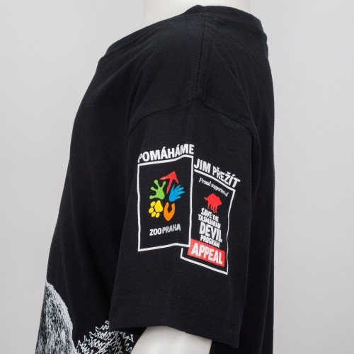 Dětské tričko KRMÍM ĎÁBLY - černé