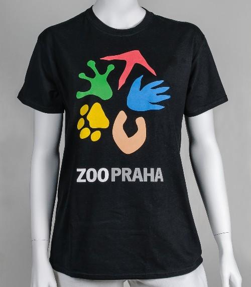 Dámské tričko s logem Zoo Praha