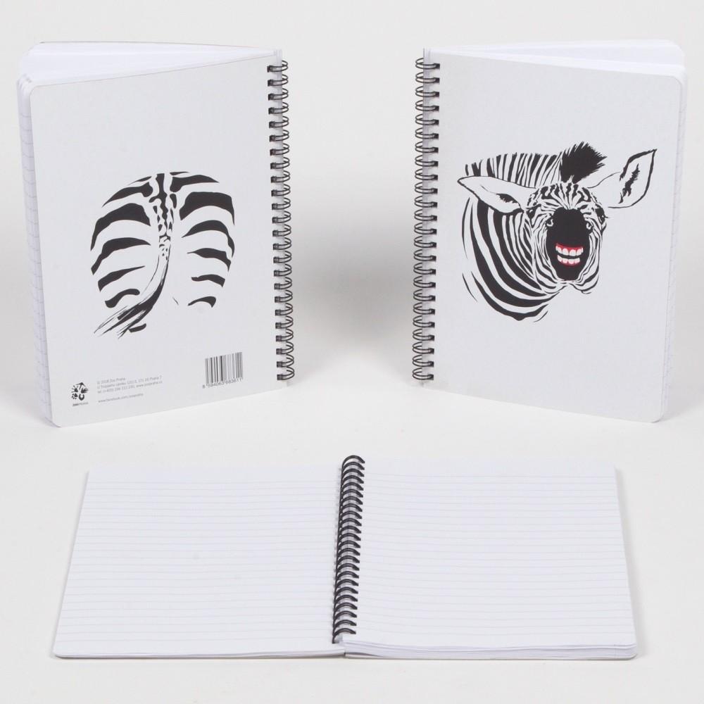 Kroužkový blok - Zebra