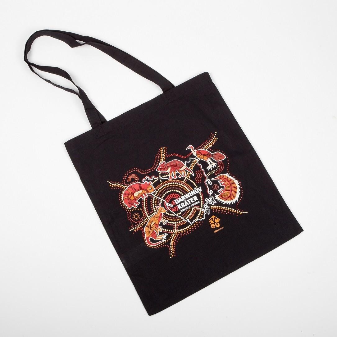 Originální látková taška s australskými motivy